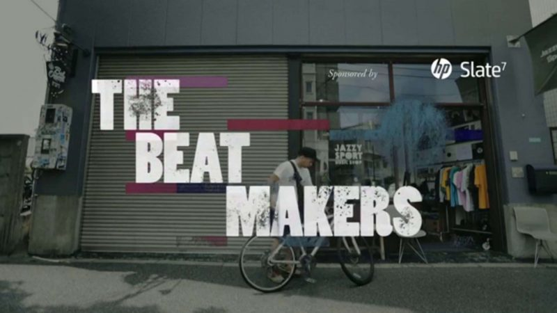 hp Slate7 documentary – BEAT MAKERS